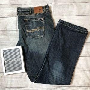 Wrangler 20X Mens Size 40x34 Dark Wash Blue Jeans
